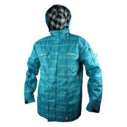 Bunda Meatfly Basic p Blue Plaid