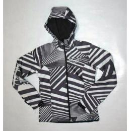 Bunda MeatFly Chikita - C/ triangle black-white-grey