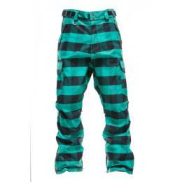 snowboardové kalhoty Nugget Boys Mentor 12/13 - B emerald plaid