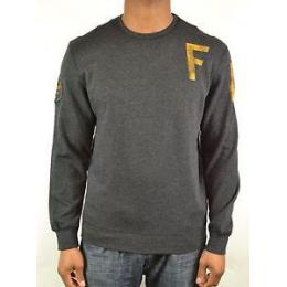 mikina Fox Smug Crew Fleece 14/15 heather black