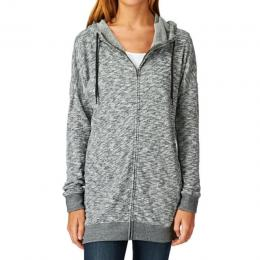 mikina Volcom Lived in long zip 14/15 charcoal heather
