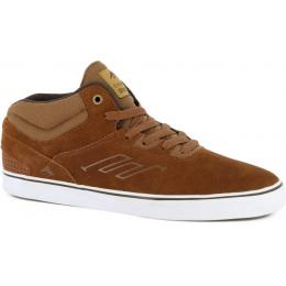 boty Emerica Westgate Mid Vulc 15/16 brown/white
