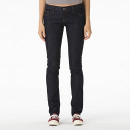 kalhoty Vans Skinny Fit 15/16 Rinse Blue