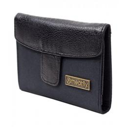 peněženka Meatfly  Crystal Wallet 15/16 A - Black