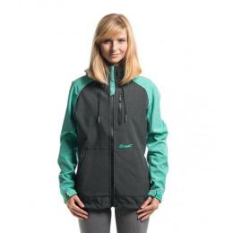 Bunda Nugget Parity Ladies Softshell 15/16 - B-Ht.Charcola/Mint